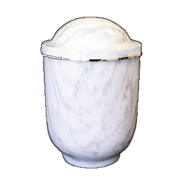 Urna imitacija bijeli mramor