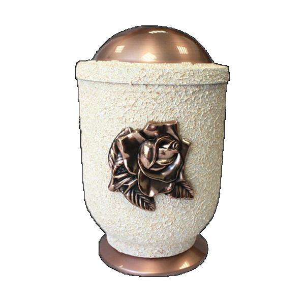 Urna krem bakar sa ružom