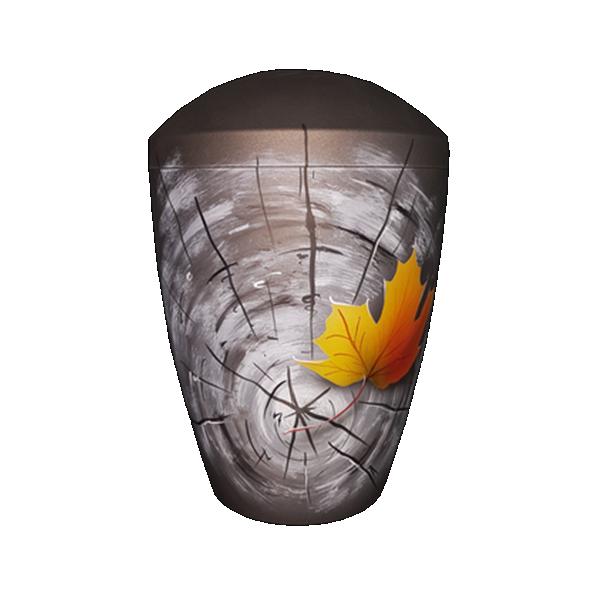 Urna BIO siva sa javor listom